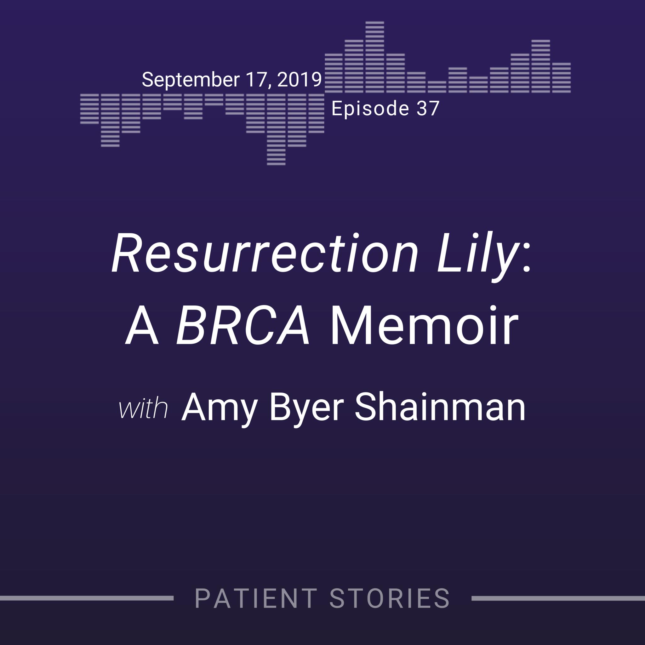BRCA memoir